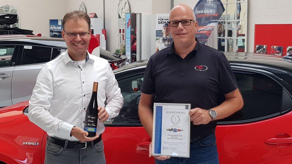 Autohaus Heinrich Thygs_Nordkirchen-Cappele_5 Jahre MMC