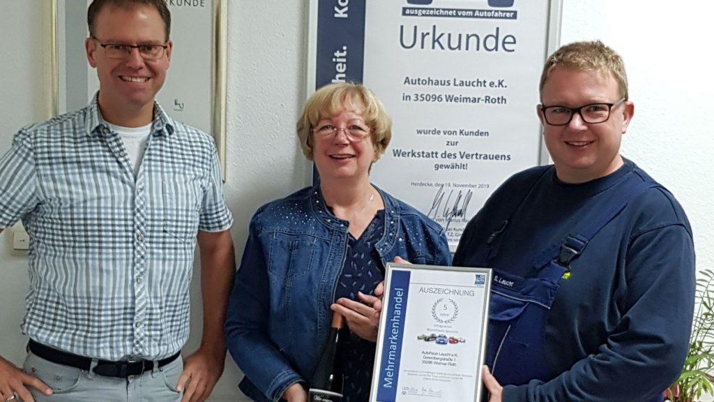 Autohaus Laucht_Weimar_5 Jahre MMC
