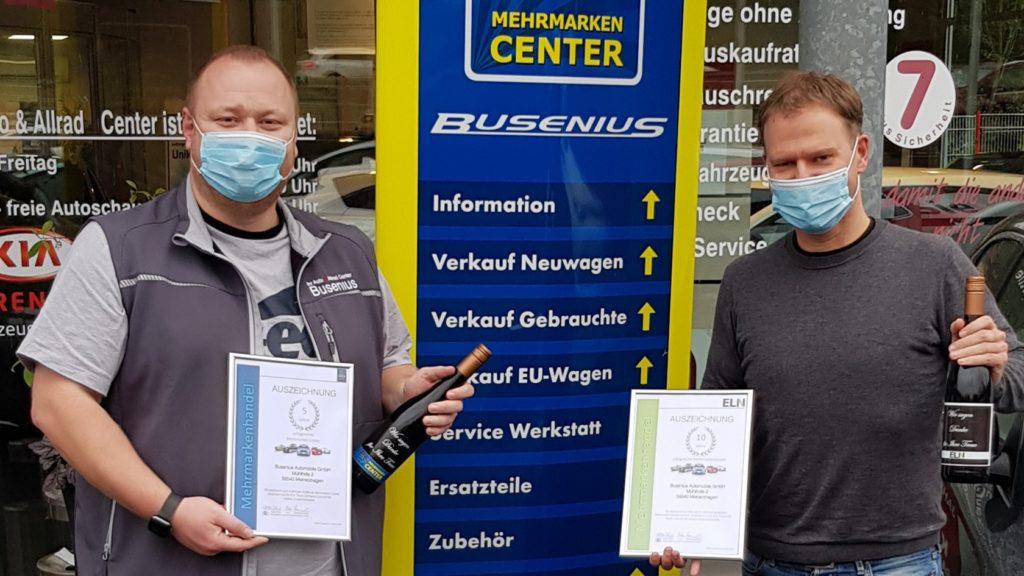 Autohaus Busenius_Meinerzhagen_5 Jahre MMC