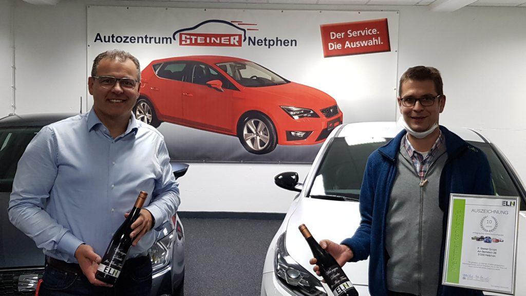 F. Steiner GmbH - Netphen - 10 Jahre ELN