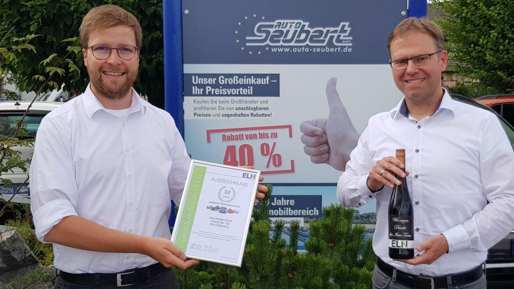 Auto Seubert_Straubing_10-Jahre Großhändler